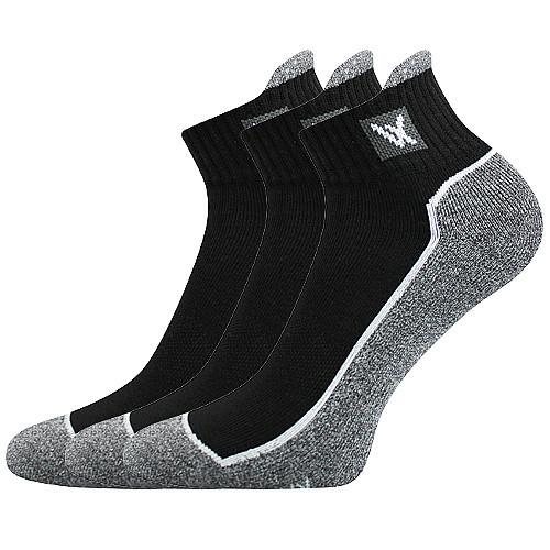 VoXX Ponožky Nesty černé 3 páry - 35-38