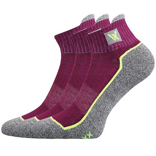 VoXX Ponožky Nesty fuxia 3 páry - 35-38