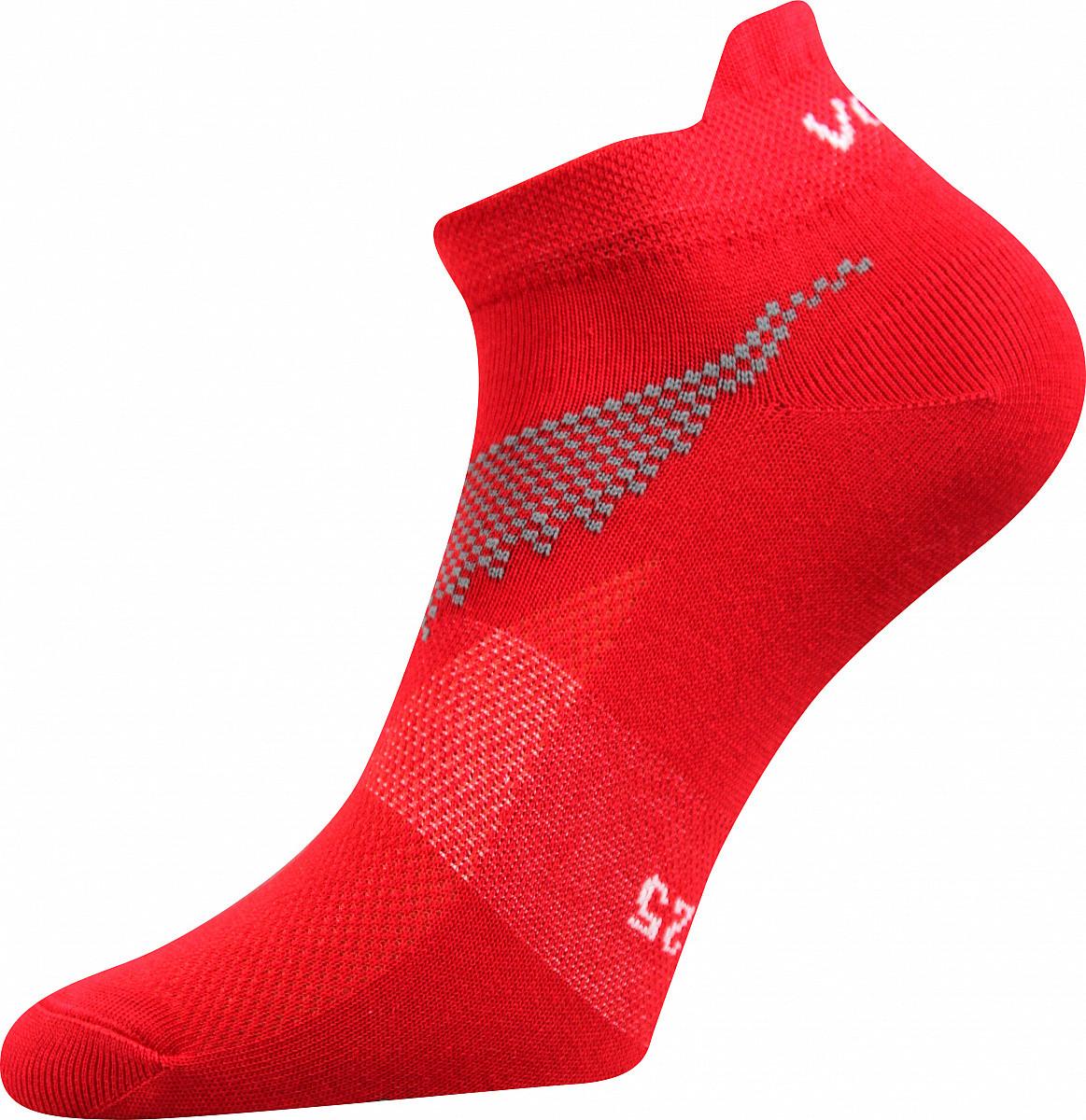 VoXX Barevné ponožky Iris červené - 35-38
