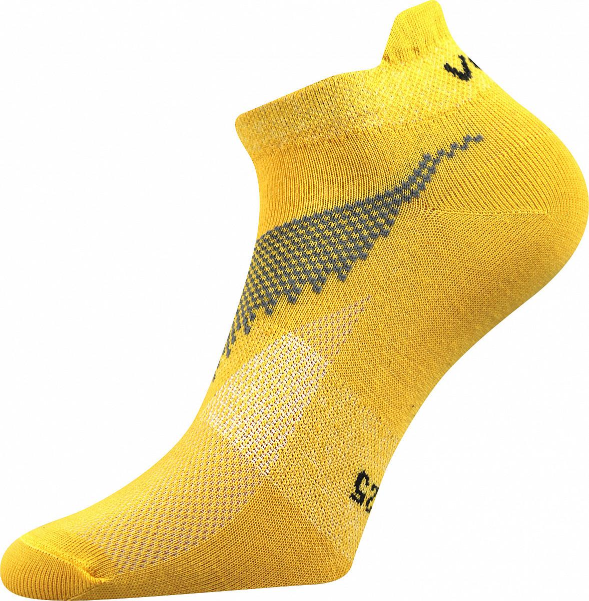 VoXX Barevné ponožky Iris žluté - 35-38