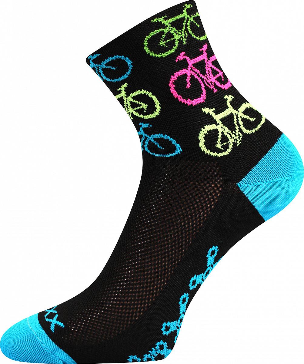 VoXX Ponožky Ralfi bike/černé - 43-46